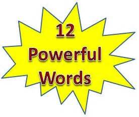 Powerful phrases for resume
